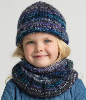 f7dcfda958f7 Jumper with Pockets · Ribbed Beanie and Cowl