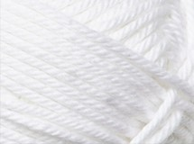 White - Cotton Blend 8 ply