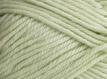 Lime Cream - Cotton Blend 8 ply