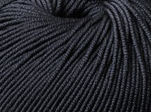 Black - Australian Superfine Merino 8 ply