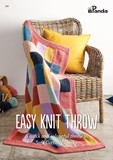 NEW - Easy Knit Throw