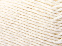 White - Baby Wool Merino 4ply