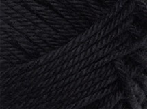 Black - Cotton Blend 8 ply