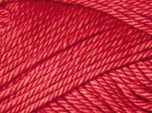 Bright Red - Cotton Blend 8 ply
