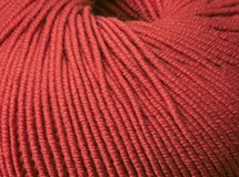 Burnt Red - Australian Superfine Merino 8 ply