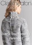 Back Buttoning Sweater