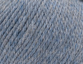 Greyblue Heather - Alpaca 8 Ply