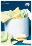 Crochet Wash Cloths - Cotton 8 Ply