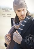 Mens Beanie Mitts & Scarf