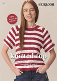 Knitted Top - Cotton 8 Ply