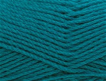 Dark Teal - Bluebell Merino 5 ply