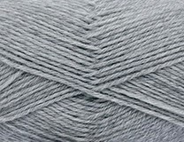 NEW - Silver Mix - Baby Wool Merino 4ply