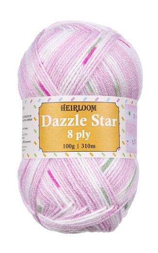 Dazzle Star 8 ply